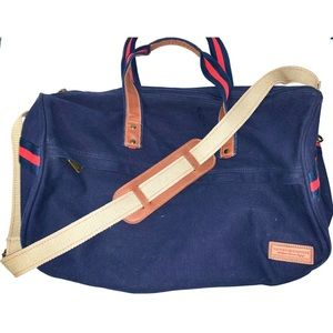 tommy canvas duffle
